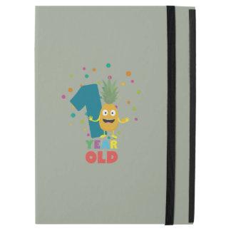 """Capa Para iPad Pro 12.9"""" Primeira festa de aniversário Zpuo7 do bebê de um"""