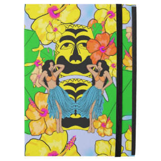 "Capa Para iPad Pro 12.9"" Pro 12,9"" casos do iPad tropical retro do hula do"