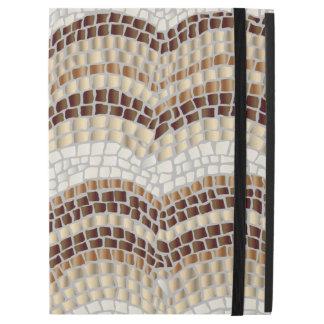 """Capa Para iPad Pro 12.9"""" Pro caso do iPad bege do mosaico sem Kickstand"""
