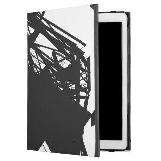 """Capa Para iPad Pro 12.9"""" pro caso do iPad com linhas de risco pretas"""