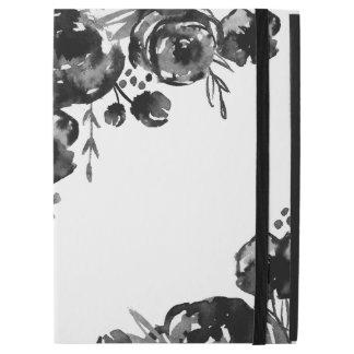"Capa Para iPad Pro 12.9"" Pro caso do iPad floral temperamental da aguarela"