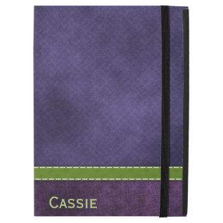 """Capa Para iPad Pro 12.9"""" Pro caso in-folio do iPad roxo bonito"""