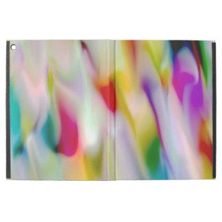 """Capa Para iPad Pro 12.9"""" Raias da cor"""