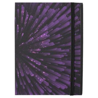 """Capa Para iPad Pro 12.9"""" Refrigere o design roxo da explosão"""