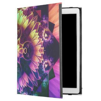 """Capa Para iPad Pro 12.9"""" Respiradouros do DES de Fleur, flor do Fractal do"""