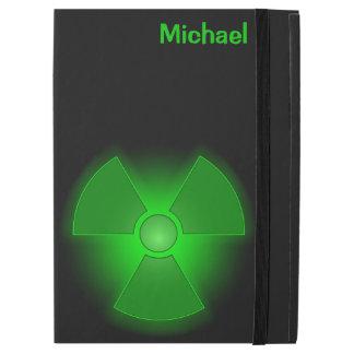 """Capa Para iPad Pro 12.9"""" Símbolo de incandescência verde engraçado da"""