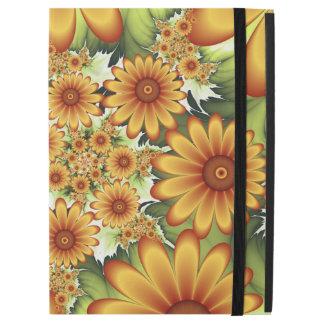 """Capa Para iPad Pro 12.9"""" Sonho floral, arte abstrata moderna do Fractal da"""
