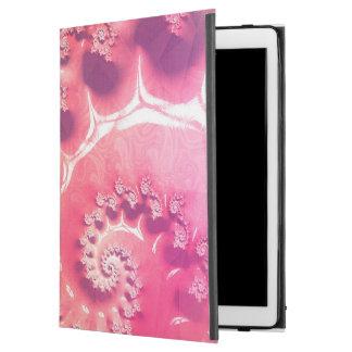 """Capa Para iPad Pro 12.9"""" Sorvete cor-de-rosa para 21 sabores de Fibonacci"""