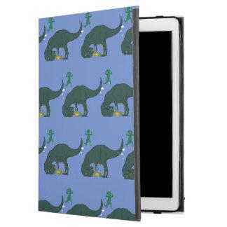 "Capa Para iPad Pro 12.9"" T Rex que faz um desejo"