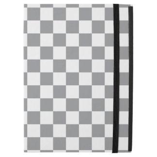 """Capa Para iPad Pro 12.9"""" Tabuleiro de damas cinzento"""