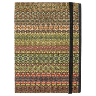 """Capa Para iPad Pro 12.9"""" Teste padrão asteca tribal do vintage"""