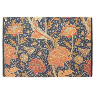"""Capa Para iPad Pro 12.9"""" Teste padrão floral de Nouveau da arte de William"""