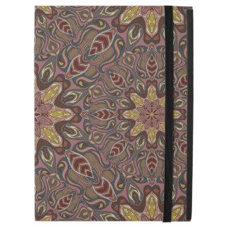 "Capa Para iPad Pro 12.9"" Teste padrão floral étnico abstrato colorido de da"