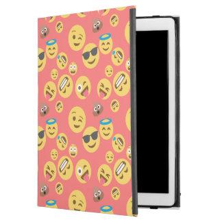 """Capa Para iPad Pro 12.9"""" Teste padrão vermelho louco de Emoji"""