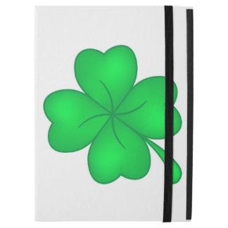 "Capa Para iPad Pro 12.9"" Trevo De Quatro Folhas"