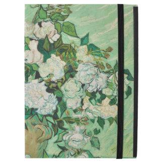 """Capa Para iPad Pro 12.9"""" Vaso de Vincent van Gogh com rosas cor-de-rosa"""