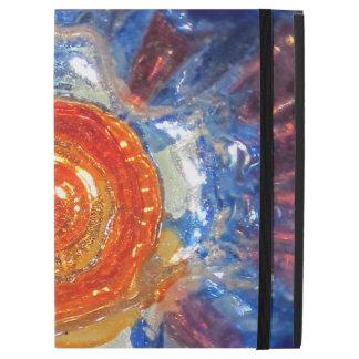 """Capa Para iPad Pro 12.9"""" Vidro de explosão da arte do cosmos - laranja Sun"""
