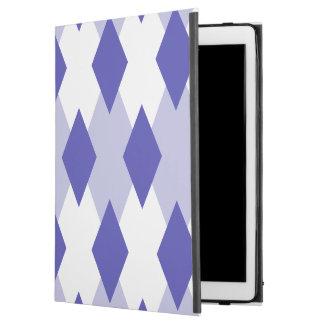 """Capa Para iPad Pro 12.9"""" Xadrez Pattern_4A46B0 de Argyle"""