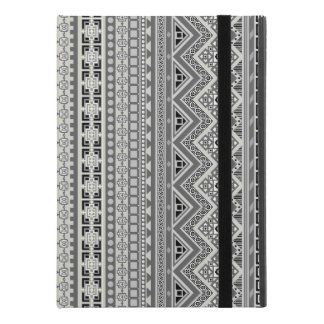 "Capa Para iPad Pro 9.7"" Design asteca cinzento bonito dos padrões"