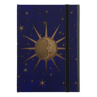 """Capa Para iPad Pro 9.7"""" Noite estrelado da lua celestial de Sun"""
