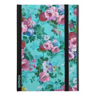 """Capa Para iPad Pro 9.7"""" Rosas vermelhos & cor-de-rosa do vintage"""