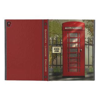 """Capa Para iPad Pro 9.7"""" Rua vermelha britânica de Londres da caixa de"""