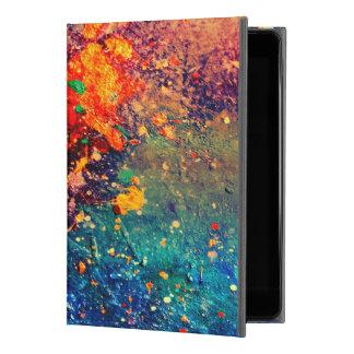 "Capa Para iPad Pro 9.7"" Splatter original corajoso tumultuoso do arco-íris"
