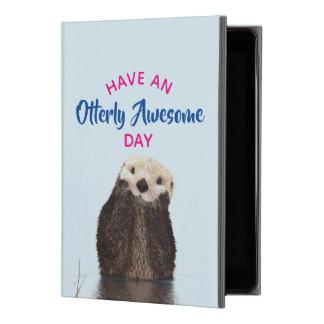 "Capa Para iPad Pro 9.7"" Tenha uma foto bonito da lontra do dia"