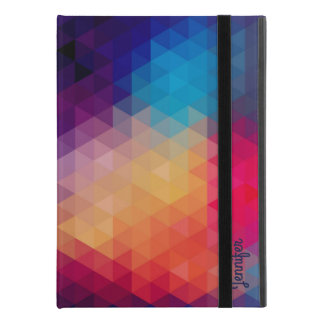 "Capa Para iPad Pro 9.7"" Teste padrão geométrico moderno do mosaico"