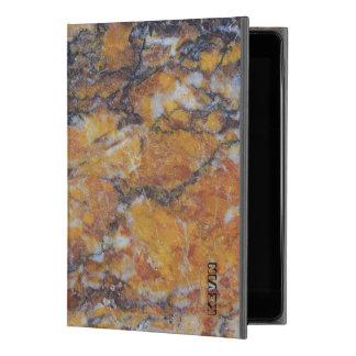 """Capa Para iPad Pro 9.7"""" Textura de mármore do falso sujo moderno de Brown"""