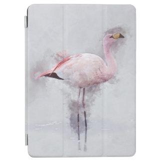 Capa Para iPad Pro Aguarela cor-de-rosa do flamingo