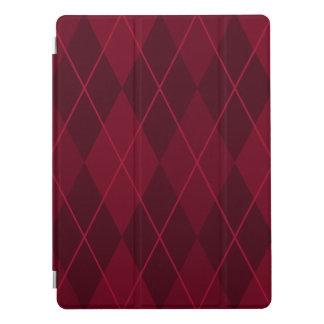 """Capa Para iPad Pro Argyle vermelho 12,9 """""""