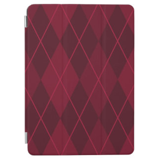 """Capa Para iPad Pro Argyle vermelho 9,7"""""""
