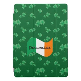 Capa Para iPad Pro Bandeira irlandesa com teste padrão do trevo