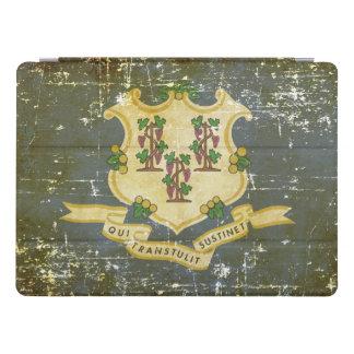 Capa Para iPad Pro Bandeira patriótica gasta do estado de Connecticut