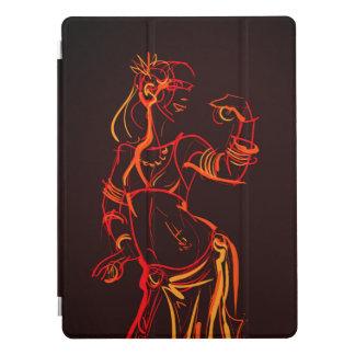 Capa Para iPad Pro Bellydancer tribal da fusão do desenho de esboço