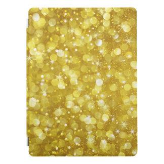 Capa Para iPad Pro Brilho & Sparkles Glam de Bokeh do ouro