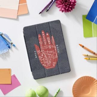 Capa Para iPad Pro Caso do iPad da Índigo-Tintura da leitura da palma