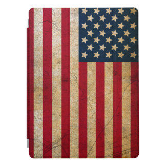 Capa Para iPad Pro Cobrir do iPad da bandeira americana do vintage