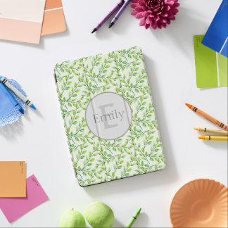 Capa Para iPad Pro Cobrir do iPad das folhas e dos ramos do verde pro