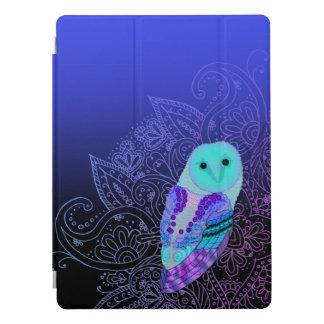"Capa Para iPad Pro Coruja 12,9 de Swirly """