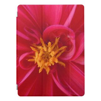 Capa Para iPad Pro Dália vermelha bonito -