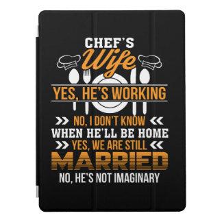Capa Para iPad Pro Esposa dos cozinheiros chefe que trabalha nós é
