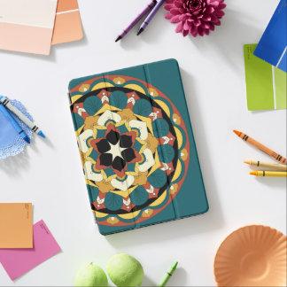 Capa Para iPad Pro Mandala floral colorida 060517_4