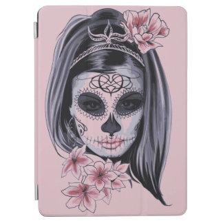 Capa Para iPad Pro Máscara do esqueleto da mulher