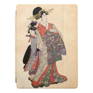 Capa Para iPad Pro Mulher no quimono colorido (impressão do japonês
