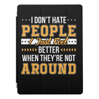 Capa Para iPad Pro O provérbio engraçado não deia pessoas da sensação