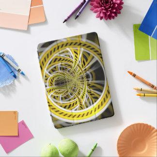 Capa Para iPad Pro Passeio amarelo da montanha russa da fita nos