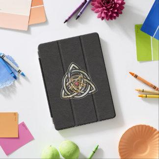 Capa Para iPad Pro Pentacle de Triquetra no preto