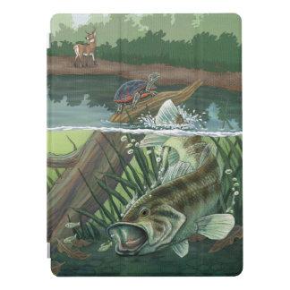 Capa Para iPad Pro Pesca da perda Largemouth